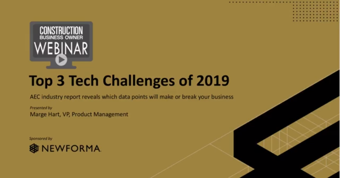 Top 3 Tech Challenges to Watch in 2019
